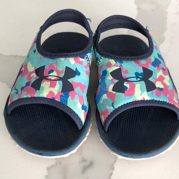 super popular 9832d 06e42 Under Armour Fat Tire Sandals (size 8 - girls)